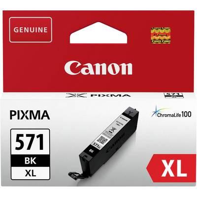 Canon Tinte CLI-571BK XL Original Foto Schwarz 0331C001 Preisvergleich