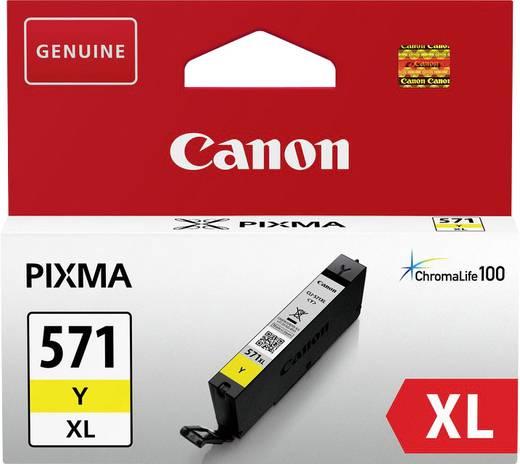 Canon Tinte CLI-571Y XL Original Gelb 0334C001