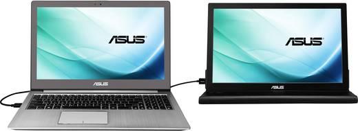 Asus MB169B+ LED-Monitor 39.6 cm (15.6 Zoll) EEK n.rel. 1920 x 1080 Pixel Full HD 14 ms USB 3.0 IPS LED