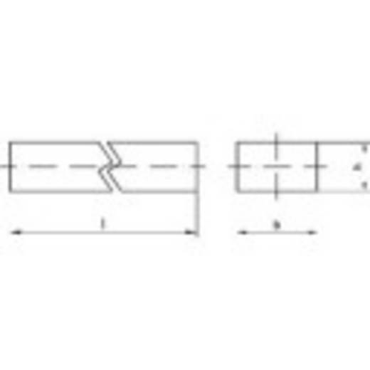 Stahl C45 + C Keilstahl TOOLCRAFT (Ø x L) 22 mm x 14 mm 1 St.