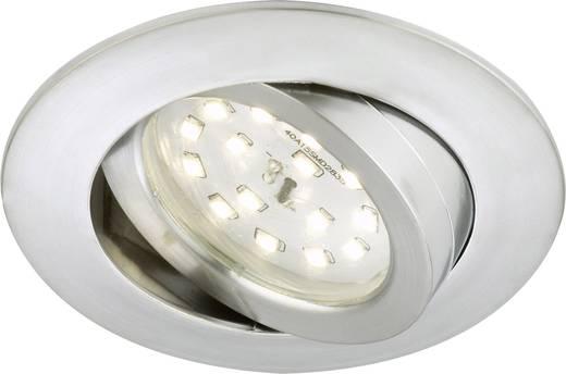 Briloner 7232-019 LED-Einbauleuchte 5.5 W Warm-Weiß Aluminium