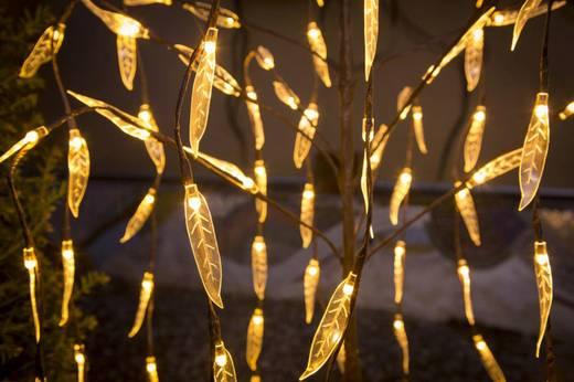 LED-Weihnachtsdekoration Trauerweide Warm-Weiß LED Konstsmide 3375-600 Braun