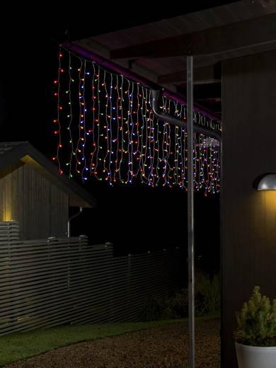lichtervorhang au en 24 v 200 led bunt l x b x h m x 247 cm x 100 cm konstsmide. Black Bedroom Furniture Sets. Home Design Ideas