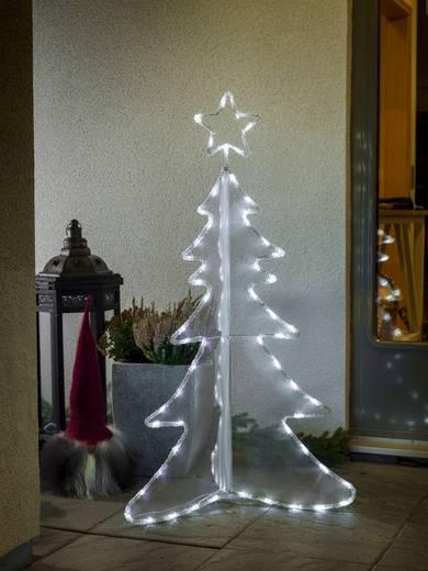 Konstsmide 3922-203 Weihnachtsbaum Weihnachtsbaum Kalt-Weiß LED Weiß