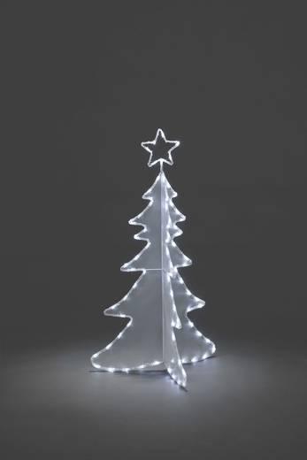 Weihnachtsbaum Weihnachtsbaum Kalt-Weiß LED Konstsmide 3922-203 Weiß