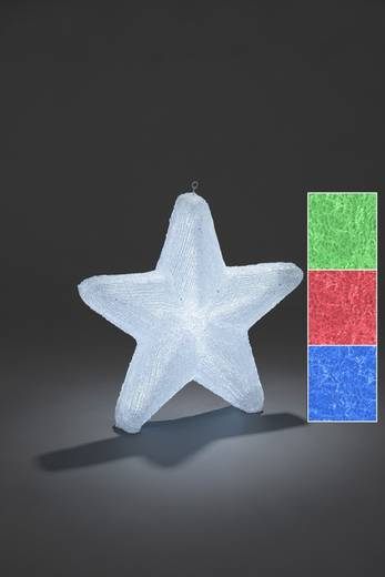 LED-Weichnachtsstern Stern RGB LED Konstsmide 6129-500