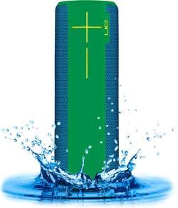 Enceinte Bluetooth UE ultimate ears UE Boom 2 GreenMachine NFC, protégée contre les projections d'eau, anti-chocs vert