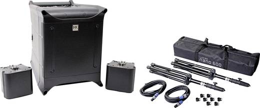 HK Audio NANO 600 Bundle Aktives PA-Lautsprecher-Set inkl. Stativ, inkl. Tasche