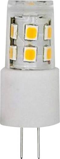 LightMe LED EEK A++ (A++ - E) G4 Stiftsockel 1.8 W = 17 W Warmweiß (Ø x L) 15 mm x 38 mm 1 St.