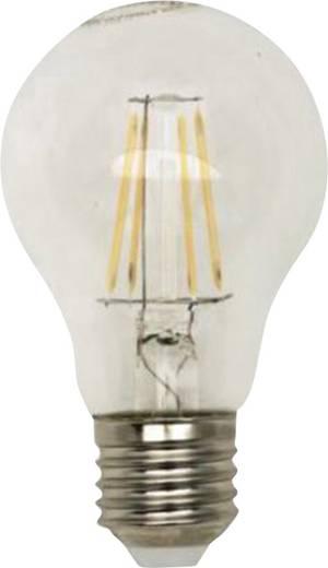 LightMe LED E27 Glühlampenform 5 W = 40 W Warmweiß (Ø x L) 60 mm x 102 mm EEK: A+ Filament 1 St.