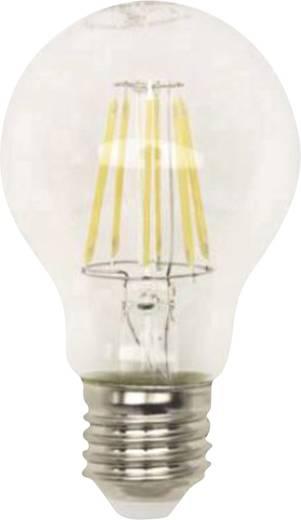 LightMe LED EEK A+ (A++ - E) E27 Glühlampenform 7.5 W = 55 W Warmweiß (Ø x L) 60 mm x 102 mm Filament 1 St.