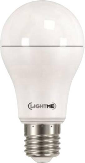 LightMe LED E27 Glühlampenform 15 W = 120 W Warmweiß (Ø x L) 60 mm x 120 mm EEK: A++ 1 St.