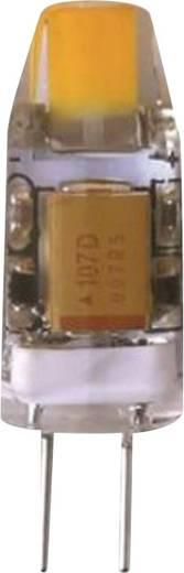 Megaman LED G4 Stiftsockel 1.2 W = 11 W Warmweiß (Ø x L) 9.00 mm x 30 mm EEK: A++ 1 St.