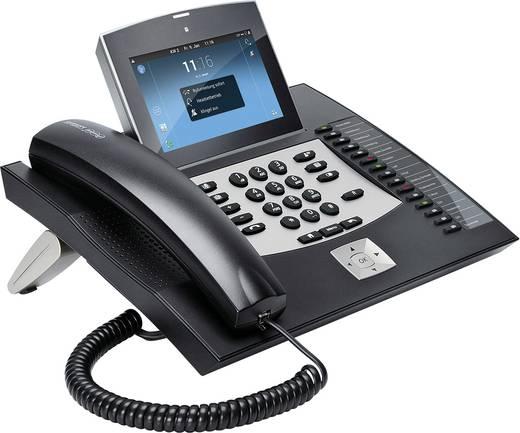 Systemtelefon,VoIP Auerswald COMfortel 3600 IP Bluetooth, Headsetanschluss Farb-TFT/LCD Schwarz