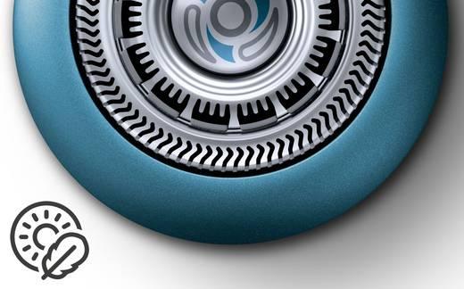 Rotationsrasierer Philips S7370/41 AquaTec Wet & Dry Ocean, Silber, Grau (matt)