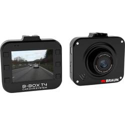 Image of Braun Germany B-Box T4 Dashcam Blickwinkel horizontal max.=120 ° 12 V Akku, Display, Mikrofon