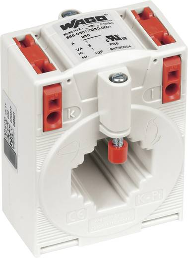 WAGO 855-305/250-501 Stromwandler Primärstrom:250 A Sekundärstrom:5 A Leiterdurchführung Ø:26 mm