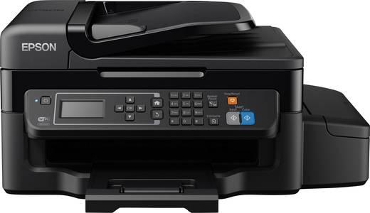 Epson EcoTank ET-4500 Tintenstrahl-Multifunktionsdrucker A4 Drucker, Scanner, Kopierer, Fax LAN, WLAN, Tintentank-System