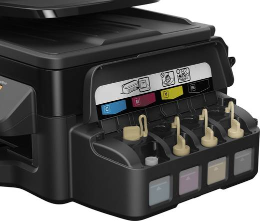 Epson EcoTank ET-4500 Tintenstrahl-Multifunktionsdrucker A4 Drucker, Scanner, Kopierer, Fax