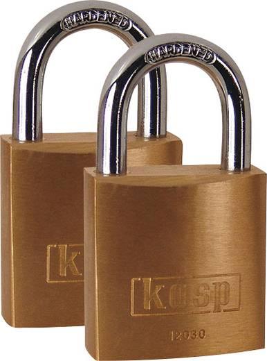 Vorhängeschloss 30 mm Kasp K12030D2 Gold-Gelb Schlüsselschloss
