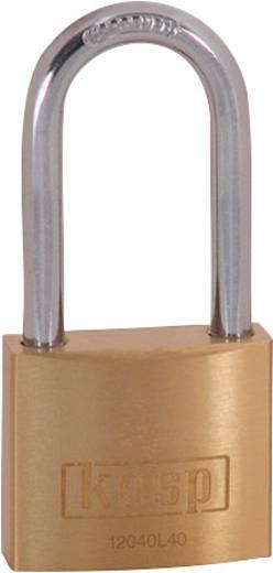 Kasp K12040L40D Vorhängeschloss 40 mm Gold-Gelb Schlüsselschloss