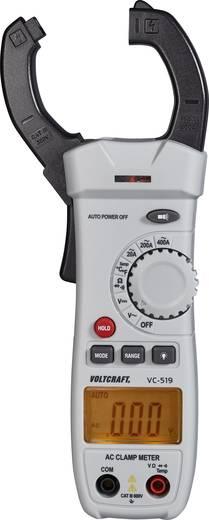 VOLTCRAFT VC-519 Stromzange digital Kalibriert nach: Werksstandard (ohne Zertifikat) CAT III 600 V Anzeige (Counts): 20