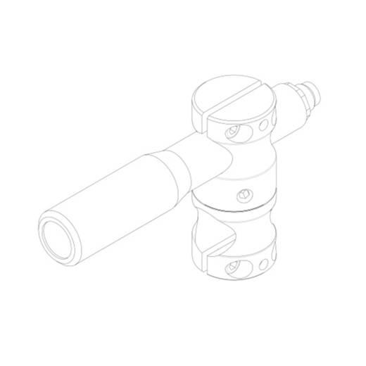 Lasermodul Linie Grün 30 mW Gresser Laser LD520-30-24(20x135)-M12