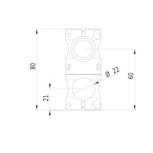 Lasermodul Linie Blau 30 mW Gresser Laser LD450-30-24(20x135)-M12