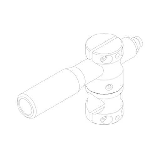 Lasermodul Linie Grün 20 mW Gresser Laser LD532-20-24(20x135)-M12