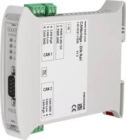 CANbridge rail DIN, 2 interfaces bus à vitesse élevée, version industrielle Ixxat 1.01.0121.11020 Interface(s) RS232 pou