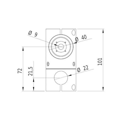 Lasermodul Linie Grün 30 mW Gresser Laser LE520-30-230(40x210)-G