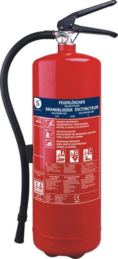Smartwares Pulverfeuerlöscher BB6 10.014.72