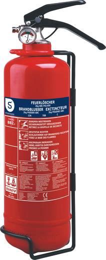 Smartwares BB2 10.014.68 Pulverfeuerlöscher 2 l Brandklasse: A, B 2 kg