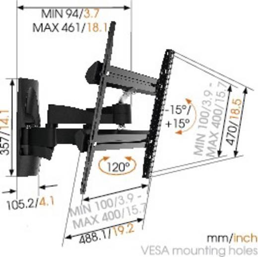 """Vogel´s WALL 2250 TV-Wandhalterung 81,3 cm (32"""") - 139,7 cm (55"""") Neigbar+Schwenkbar"""