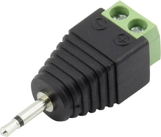 Klinken-Steckverbinder 2.5 mm Stecker, gerade Polzahl: 2 Mono Schwarz Conrad Components 93013c1141 1 St.