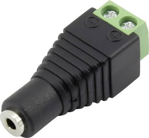 Klinken-Steckverbinder 2.5 mm Buchse, gerade Polzahl: 2 Mono Schwarz Conrad Components 93013c1142 1 St.