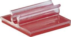 Embase de fixation pour plage de Ø: 6.40 mm (max) Conrad Components 1386634 transparent 1 pc(s)