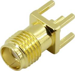 Connecteur SMA embase femelle, montage vertical 50 Ω 1 pcs.