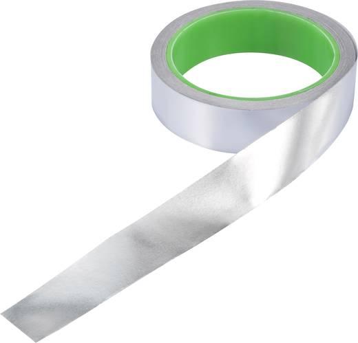 ESD-Klebeband 1 Rolle(n) Aluminium (L x B) 10 m x 25 mm Conrad Components AL-F2.5R1000