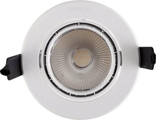 LED-Einbauleuchte 7 W Warm-Weiß Opple HQ 82184 OP Weiß