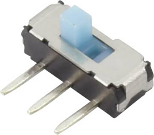 Schiebeschalter 6 V/DC 0.3 A 2 x Aus/Ein YSS-1203 1 St.