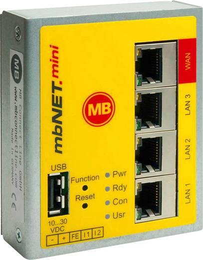 Industrie Router USB, LAN MB Connect Line GmbH Anzahl Eingänge: 2 x Anzahl Ausgänge: 2 x 24 V/DC