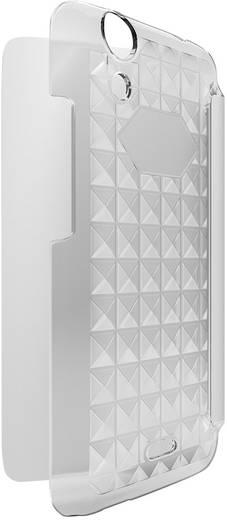 WIKO 95321 Flip Cover Passend für: Wiko Rainbow Jam 8 GB, Wiko Rainbow Jam 16 GB Weiß