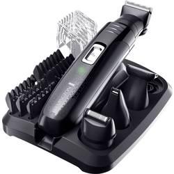 Zastrihávač ochlpenia, zastrihávač vlasov, zastrihávač fúzov Remington PG6130 GroomKit, omývateľný, čierna
