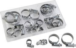 Assortiment de colliers de serrage Conditionnement 18 parties
