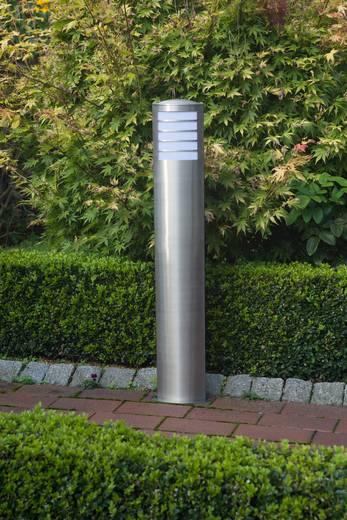 Außenstandleuchte Energiesparlampe E27 20 W Brilliant Todd 47685/82 Edelstahl