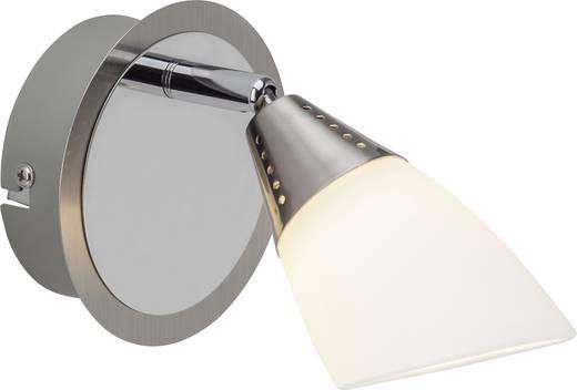 LED-Wandstrahler 4 W Warm-Weiß Brilliant Opalina G07110/77 Chrom
