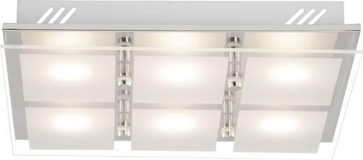 LED-Deckenleuchte 30 W Warm-Weiß Brilliant World G10406/15 Chrom