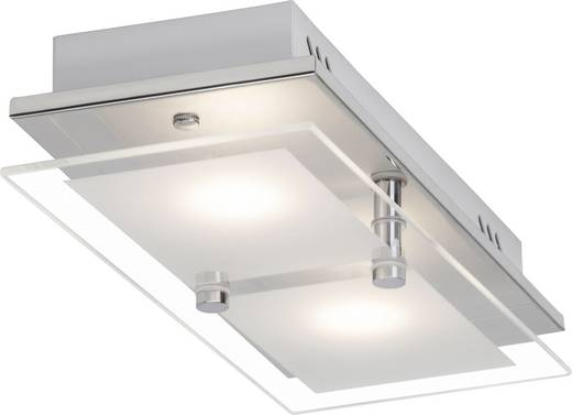 Brilliant World G10429/15 LED-Deckenleuchte 10 W Warm-Weiß Chrom