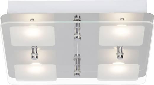 LED-Deckenleuchte 20 W Warm-Weiß Brilliant Mountain G11435/15 Weiß